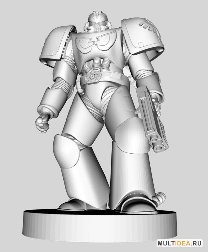 Фигурки Warhammer Space Marine - модели для 3D принтера