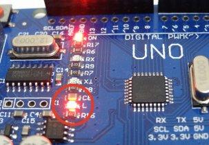 Arduino (Ардуино) мигаем светодиодом - первый урок