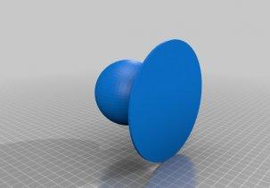 Шаровое соединение - 3D модель