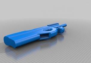 Пистолет пулемет FN P90 - 3D модель