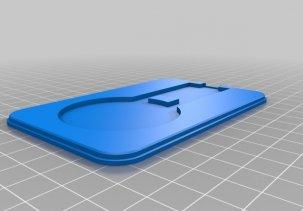 Корпус для Qi беспроводной зарядки - 3D модель