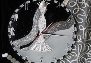"""Настенные часы """"Судьбоносная королева"""" / Wall clock """"Fateful Queen"""""""
