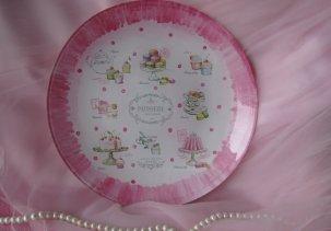 Декоративная тарелка (декупаж)