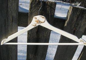 Вешалка для одежды с росписью Знаки зодиака - Скорпион