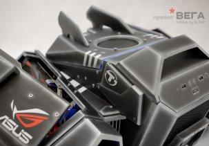 Компьютерный корпус в виде звездолёта. Моддинг-проект Вега.