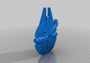 Тысячелетний сокол 3D модель