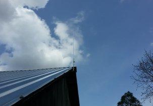 Телескопическая антенна для гаражного радио