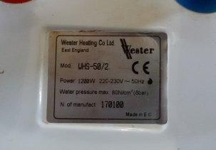Замена тэна в водонагревателе (бойлере) Wester WHS-50/2