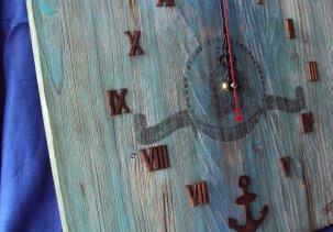 Морские часы 40 см