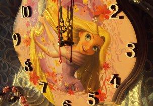 Часы принцесса Рапунцель