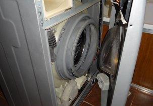 Замена тэна в стиральной машине Samsung WF7522S9R