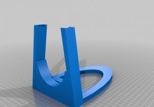 Держатель видеокарты для Майнинг фермы - 3D модель