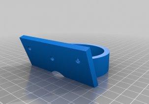 Держатель для фена - модель для 3D принтера