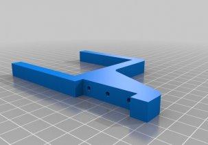Настенное крепление для xbox one s - 3D модель
