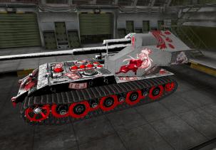 Waffenträger auf E 100 - 3D модель танка
