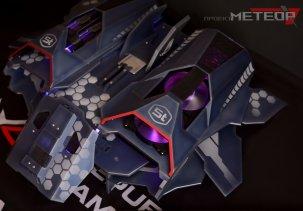 Компьютерный корпус в виде звездолёта (проект Метеор)