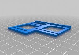 Держатель для флаконов 3D модель