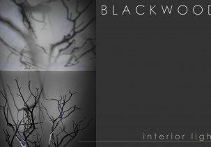 Blaсkwood светильник арт-объект