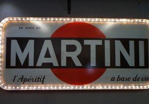 Винтажная вывеска Martini 1957 г.